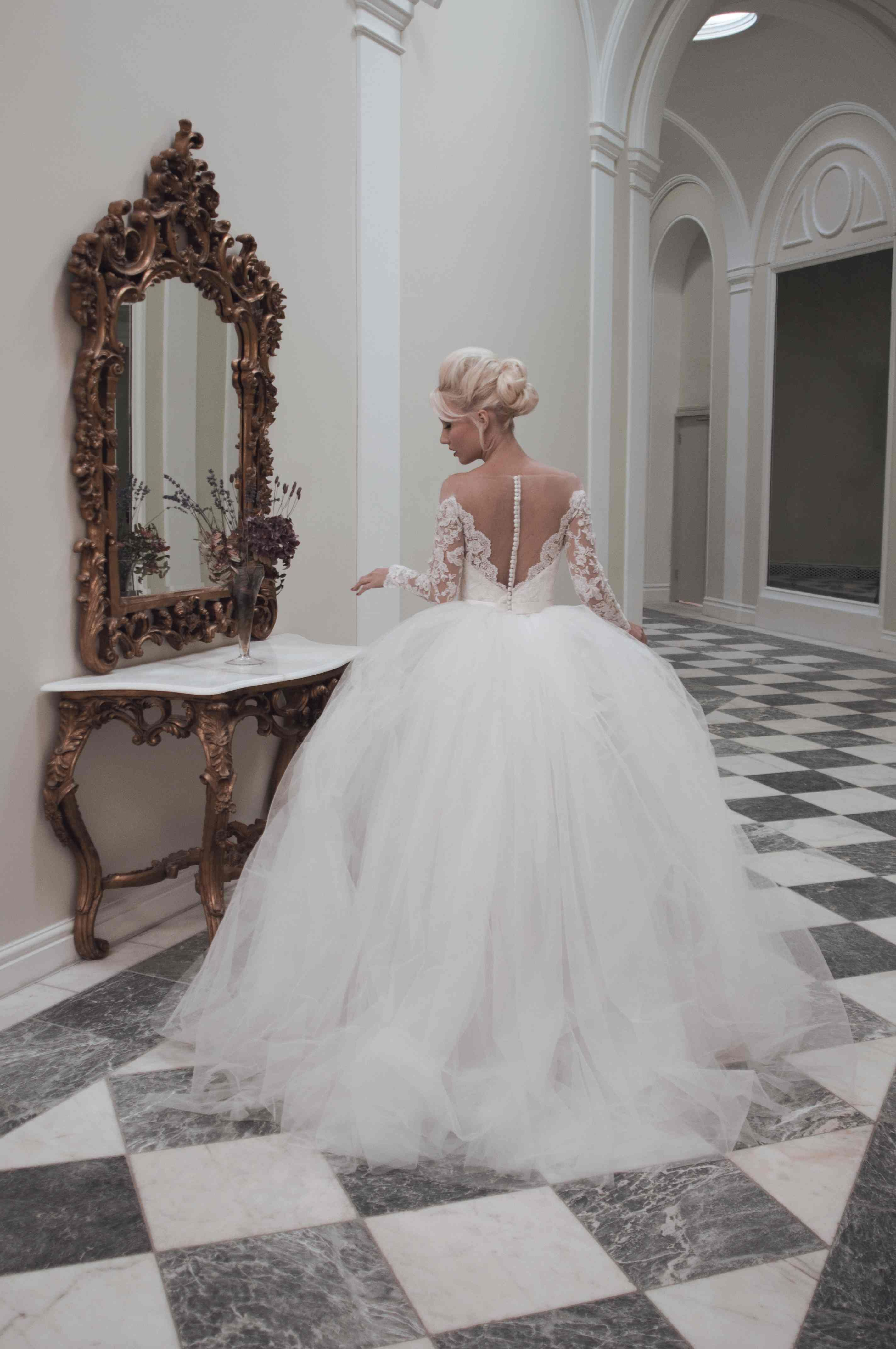 Juliette A Short Fitted Pencil Wedding Dress With Sheer Illusion Back And Shoulders A Simply St Ball Gowns Wedding Wedding Dress Long Sleeve Wedding Dresses [ 4288 x 2848 Pixel ]