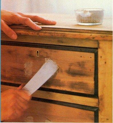 T cnicas para restaurar muebles muebles restaurados - Restauracion de muebles de madera ...
