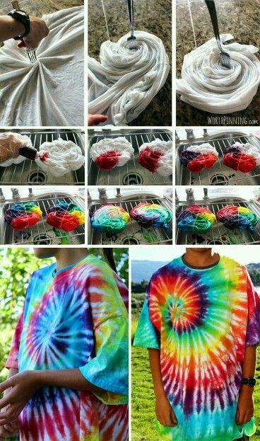 Chandail hippie ^.^ | Teinture vetement,