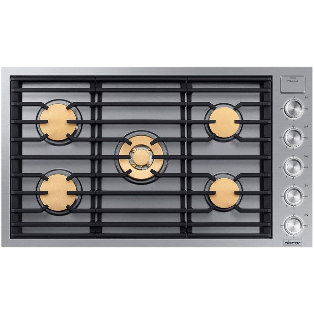 Dacor modernist 36 gas cooktop stainless steel gas