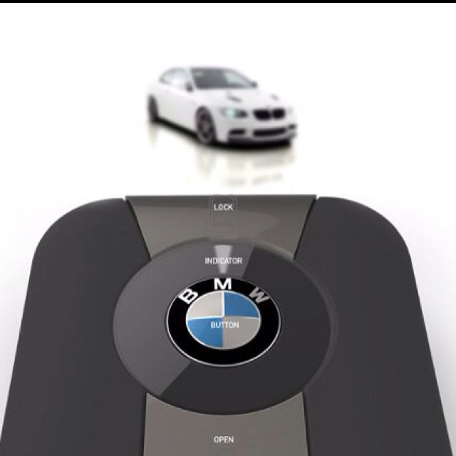 BMW's prototype key fob that helps you find your car