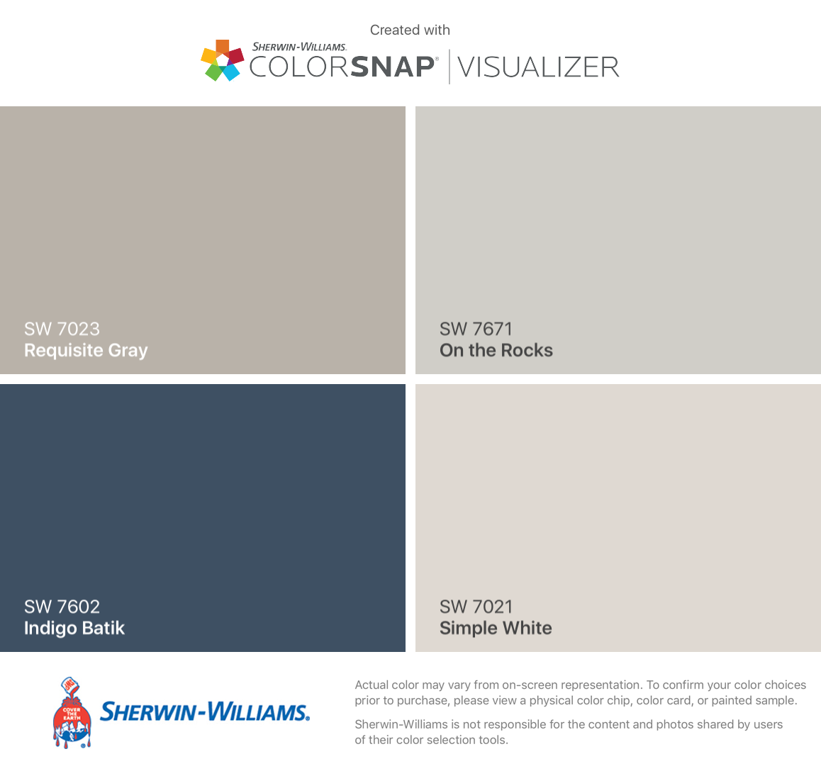 7018 dovetail sherwin williams - I Found These Colors With Colorsnap Visualizer For Iphone By Sherwin Williams Requisite