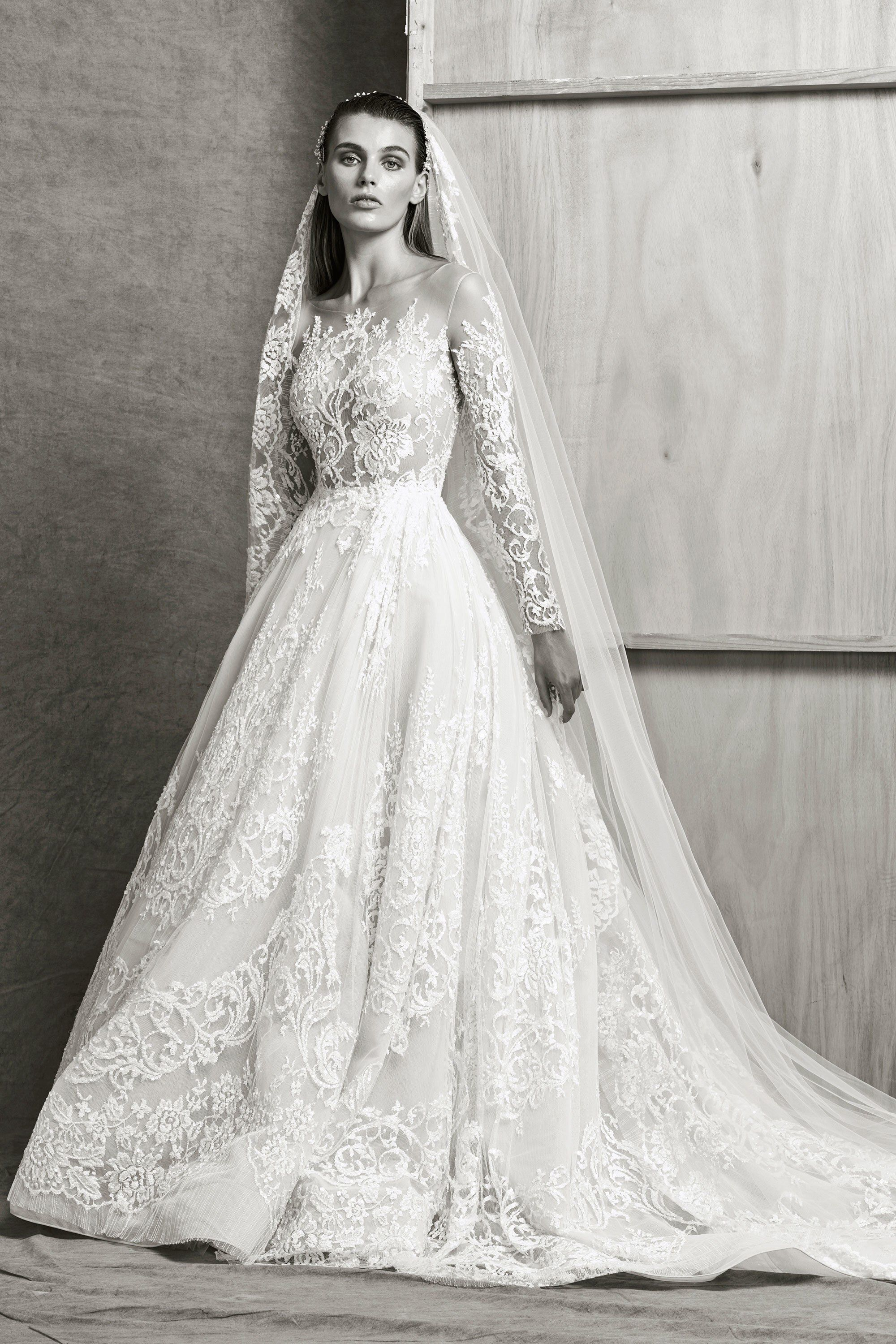 Zuhair murad bridal fall fashion show collection save the
