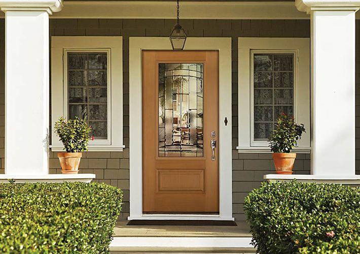 Masonite front door, Home Depot | Front doors | Pinterest | Front ...