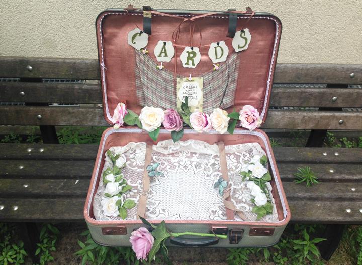 vintage koffer hochzeit