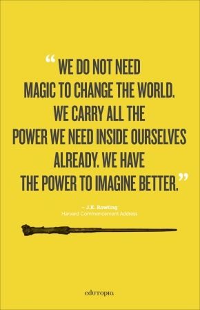 Jk Rowling Quotes Jkrowling Quote Poster  Pinterest  Harry Potter Wisdom And