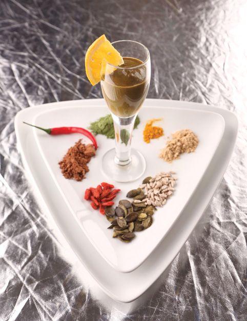 EROS (tekvicové semienka, maca prášok, goji, slnečnica, moringo prášok, kakao, pomaranč...)