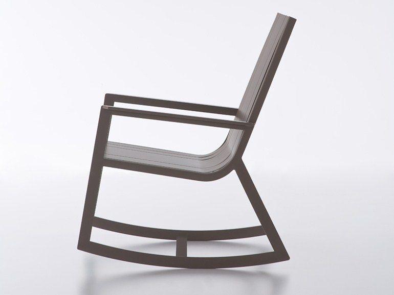 Schaukelstuhl Kollektion Flat By GANDIA BLASCO | Design Mario Ruiz