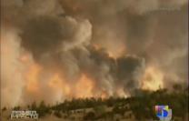 Más De 100 Incendios Forestales Arden Sin Control En La Costa Oeste De EE.UU #Video
