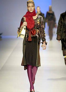 Etro Fall 2003 Runway - Etro Ready-To-Wear Collection