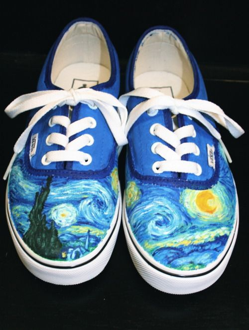 I want someone to do this on a pair of white Converse for me