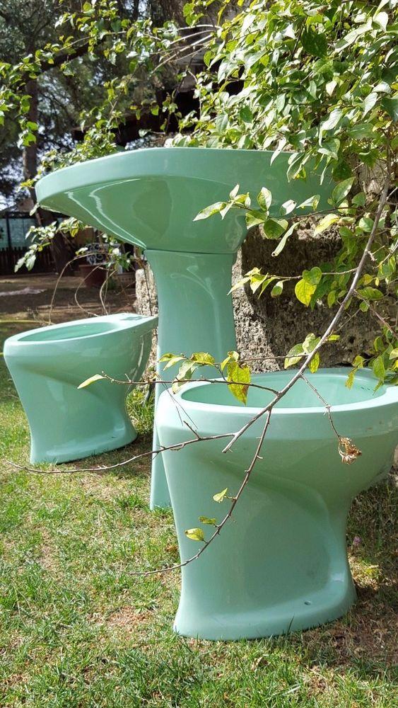 Very rare museal bath sanitary design gio ponti with archive 1966 ...