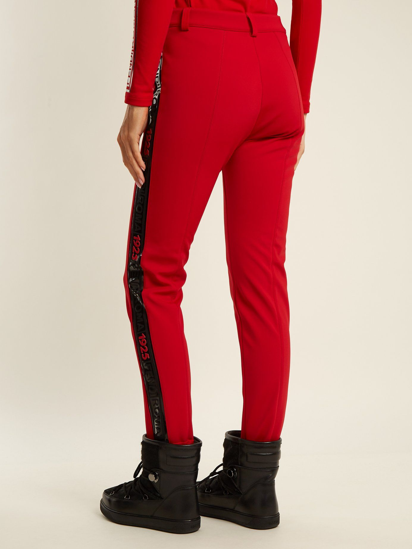 High-rise stirrup-hem ski trousers  f85a5ba9f