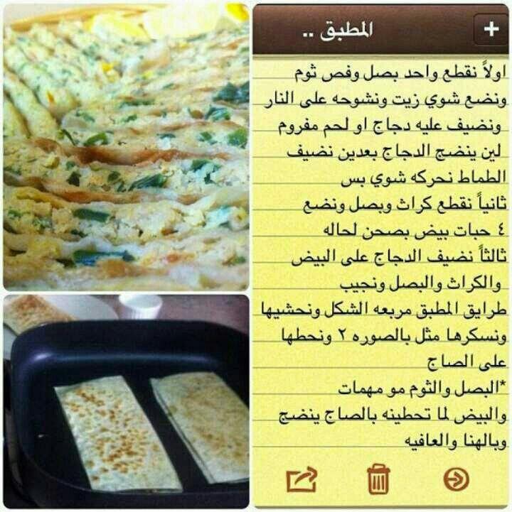 المطبق Food And Drink Food Arabic Food