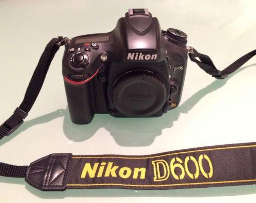 Nikon D D600 24.3 MP Digital SLR Camera - Black (Body Only) https://t.co/M0HrqXLD0O https://t.co/JyPQbnXlbK