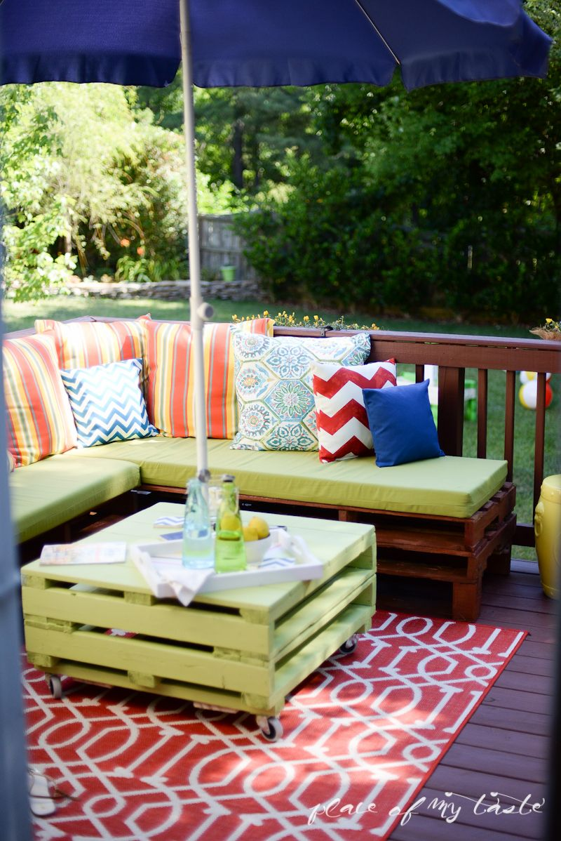 Diy pallet furniture decoracin de interiores patios y jardines this outdoor pallet furniture is quite amazing learn how to make diy pallet furniture yourself solutioingenieria Images