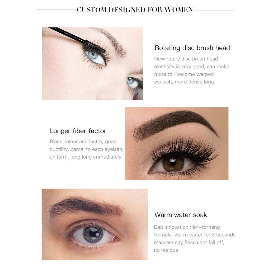 b3c9bfe9c24 Black Waterproof Mascara by Fenleo Eyelash Long Curling Mascara Eye Lashes  Extension Makeup -- More info could be found at the image url.
