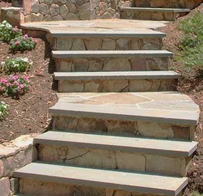 Designing Beautiful Landscape Steps Landscape Stairs Bluestone