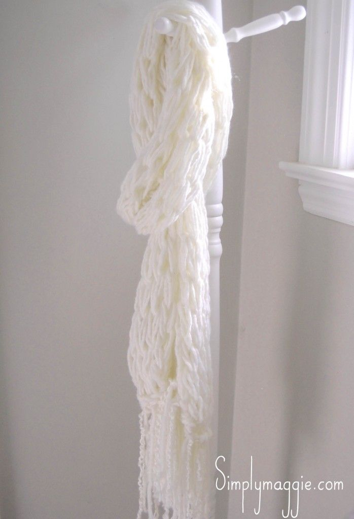 Arm knit a fringe scarf copy such a cool thing to make for yourself arm knit a fringe scarf copy such a cool thing to make for yourself or solutioingenieria Images