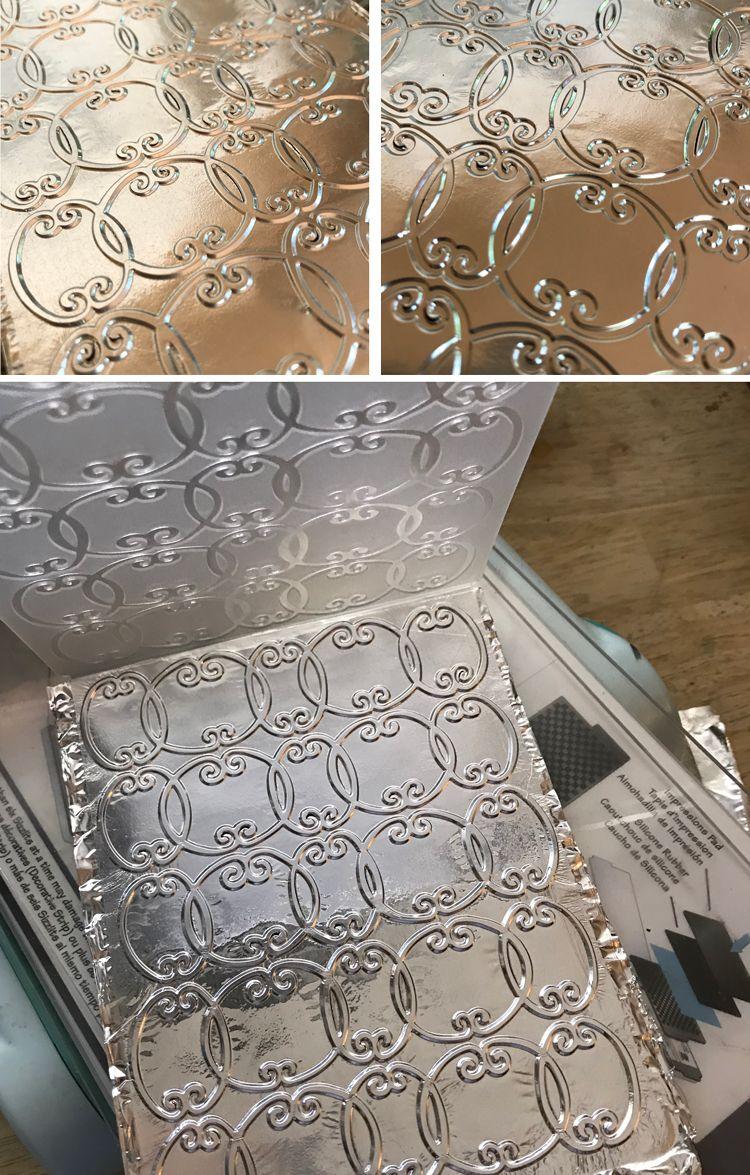 How to Emboss Aluminum Foil!