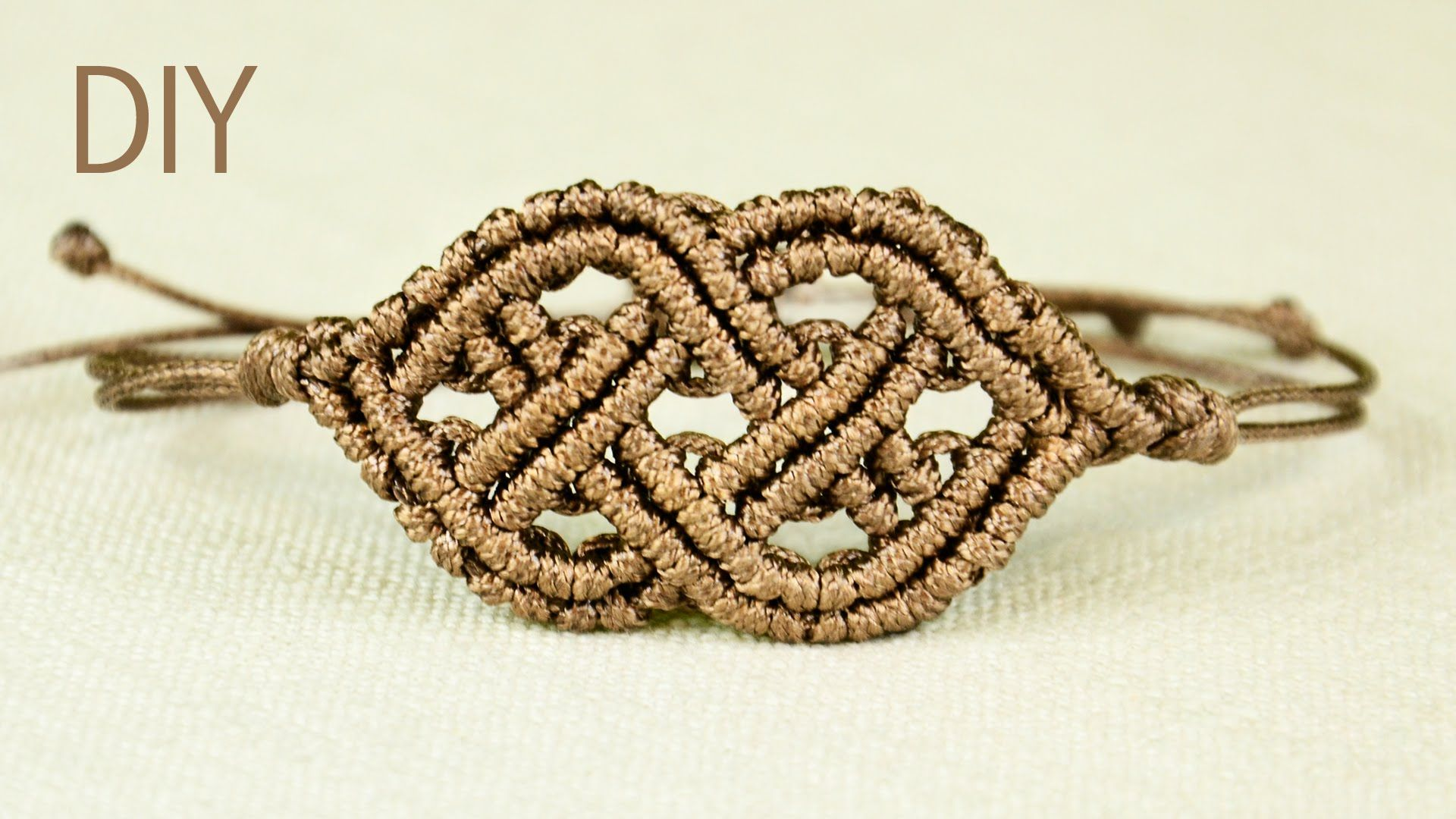 How to Make Macrame Bracelet in Celtic style. Looks a bit ...
