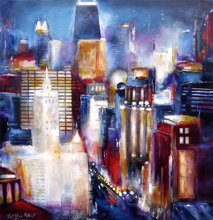 Chicago Canvas Print - \