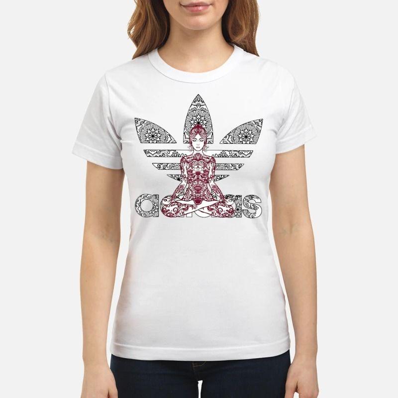 Namaste Mandala sublimated printed T-shirt