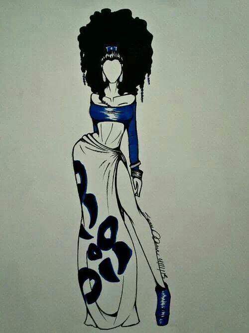Pin de Alicia . en Artsy | Pinterest | Arte afro, Afro y Dibujo