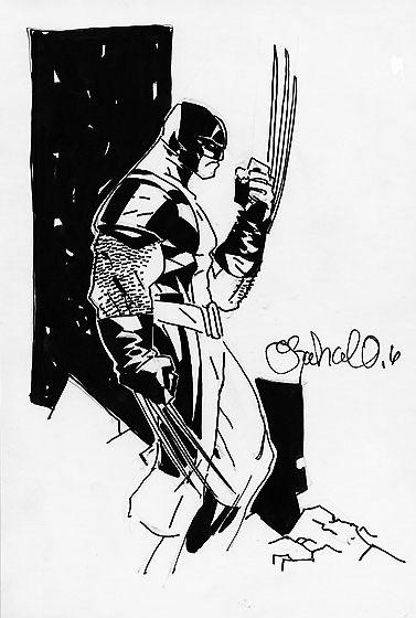 Wolverine | Chris Bachalo | Ilustración | Pinterest | Cómics ...