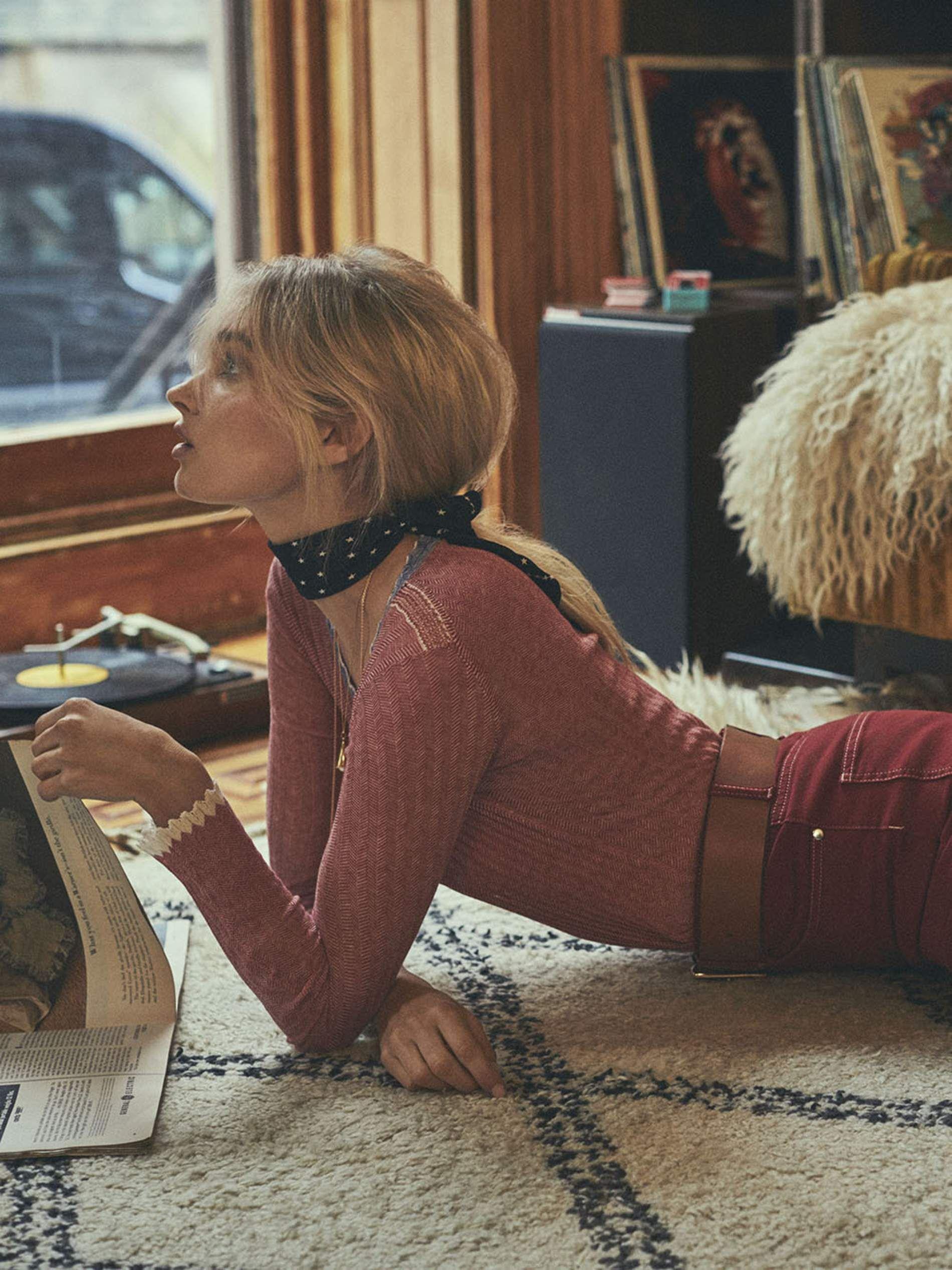 Model Elsa Hosk talks social media, body confidence & being 'anti-sexy'