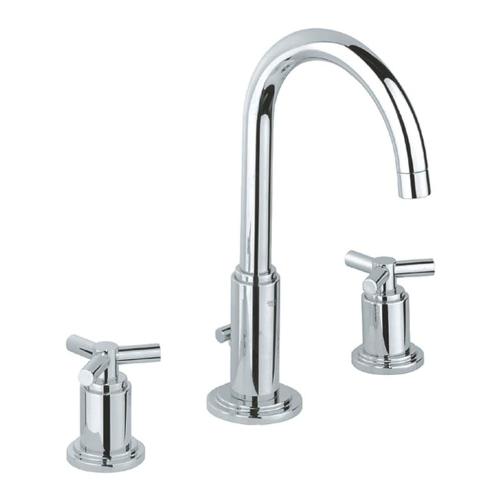 Shop Grohe 20069 Atrio High Spout Widespread Faucet at The Mine ...