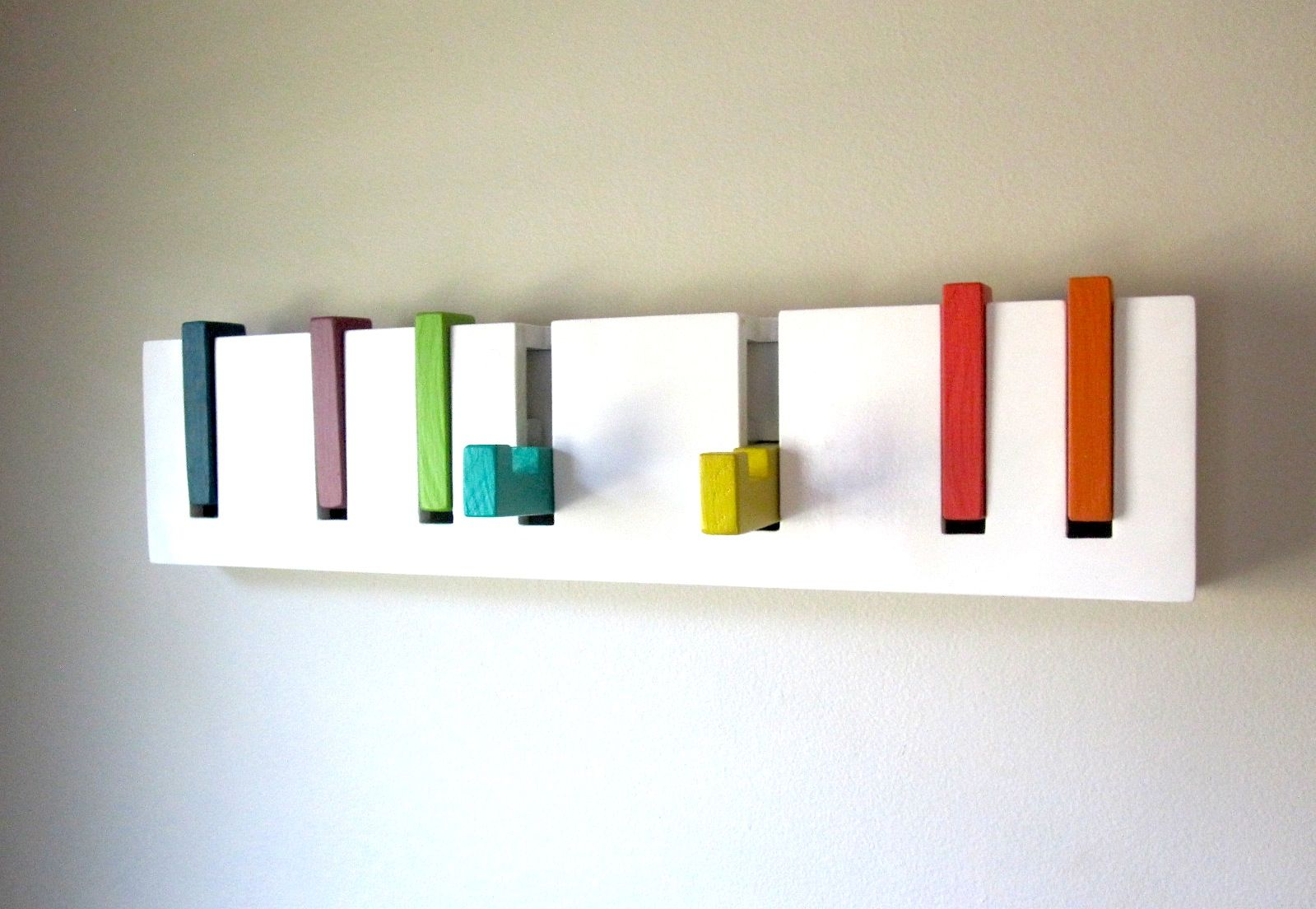 Cool Wall Coat Racks Let The Coat Rack Hook Search Begin Love These Rainbow