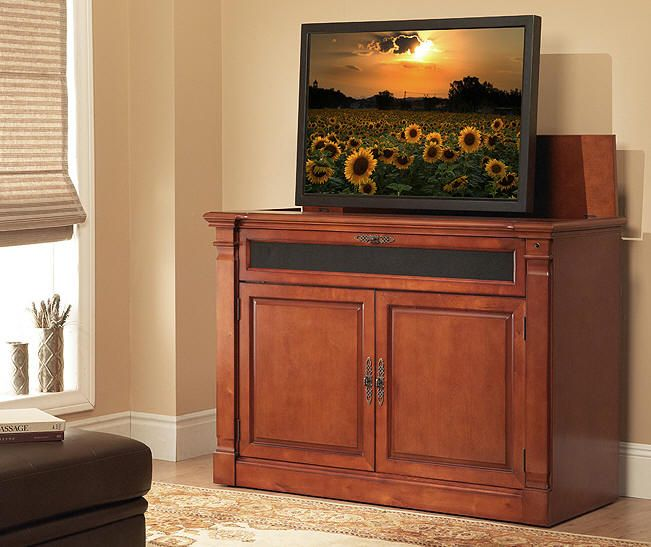 Fall sale october and november on the adonzo tv lift - Retractable tv cabinet living room furniture ...