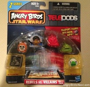 Angry Birds Star Wars 2 Telepods Rebels V Villains 1 Vs