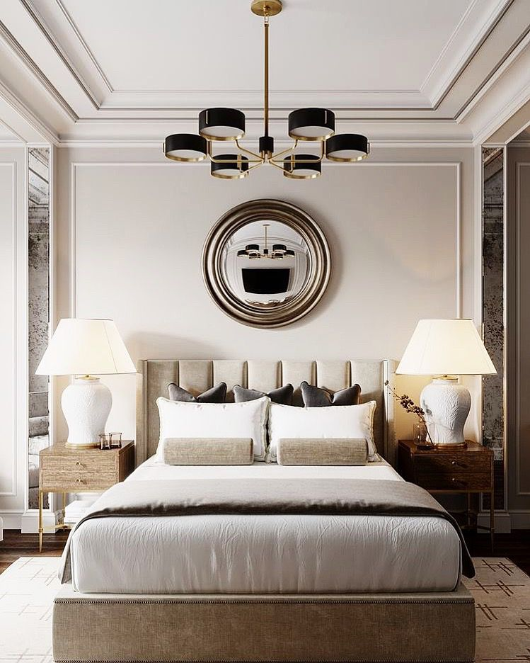 How To Make Your Bedroom Look And Feel Like A Hotel Jessica Elizabeth Interiors Home Decor Bedroom Classic Bedroom Luxurious Bedrooms
