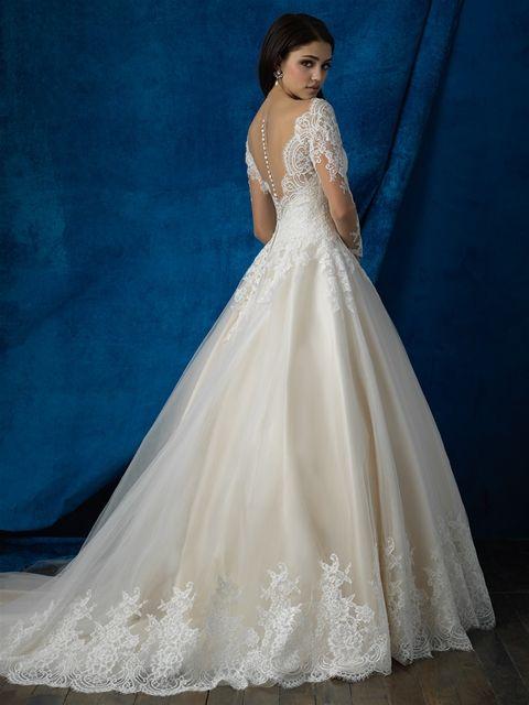 8d446b2eff4 Allure Bridals 9366