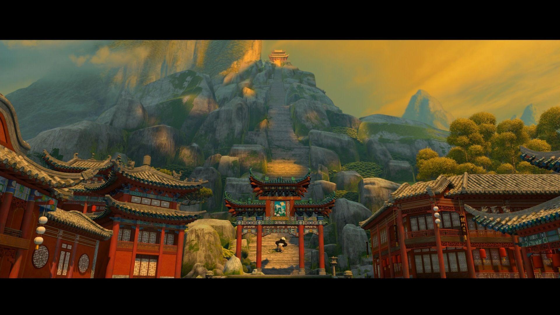 Kung Fu Panda Temple