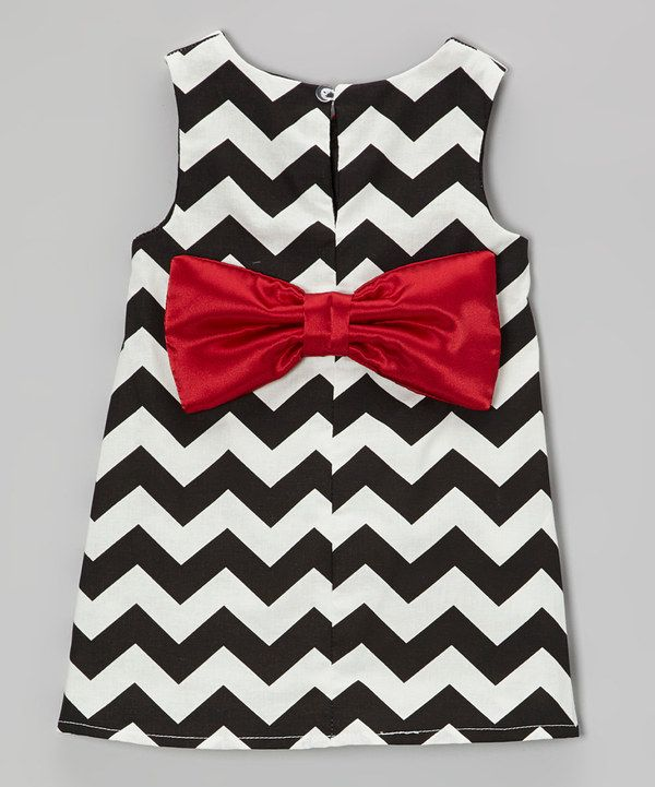 Take A Look At This Black White Zigzag Dress Infant Toddler On