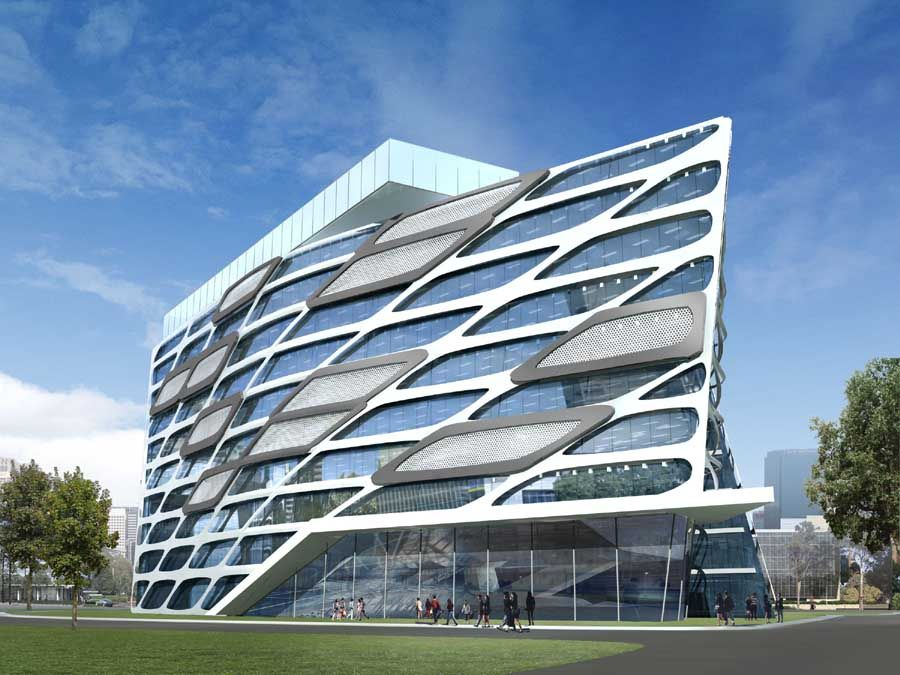 lac trung software city to120109 1 architecture buildings architecture officeamazing - Cool Architecture Office Buildings