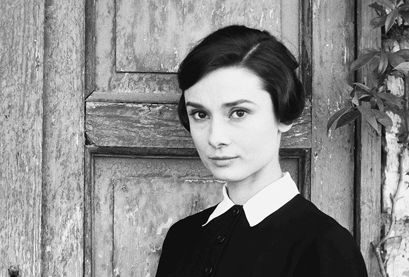 Audrey Hepburn on set of The Nun's Story, 1958.