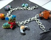 Labyrinth inspired charm bracelet