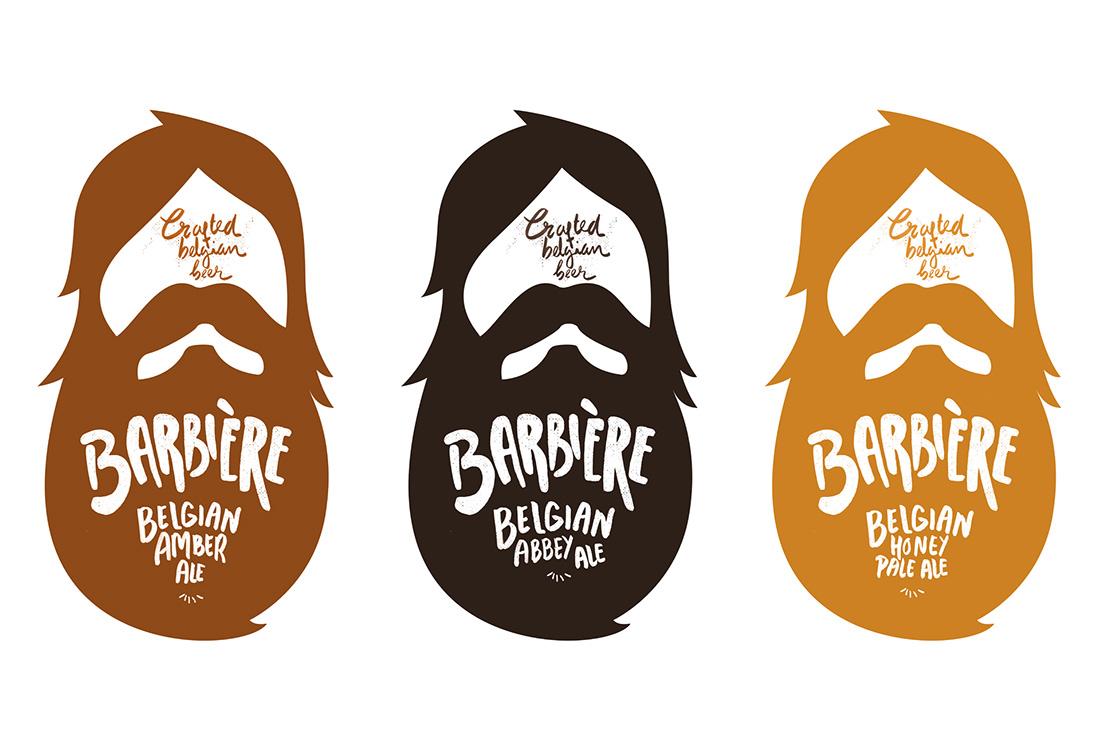 Barbiére Beer Branding & Packaging on Behance