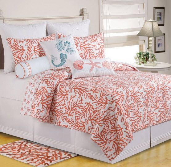 Turquoise And Coral Bedding Is With Turquoise And Coral Bedding
