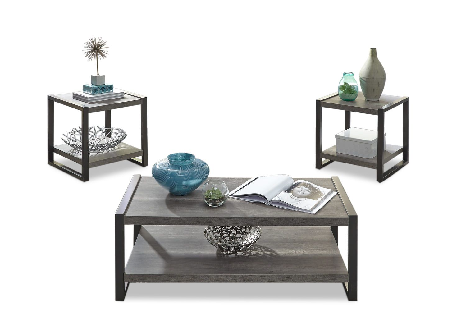 Tanner Tables Set Of 3 Hom Furniture Hom Furniture Table Settings Table [ 1078 x 1500 Pixel ]