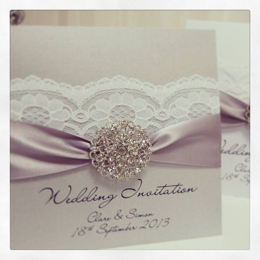 Once Wedding Invitation Pack Of 10 By Made With Love Designs Ltd Notonthehighstreet