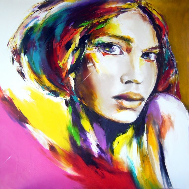 By Christian Vey Gallery Artist Art Art Feminin Portrait
