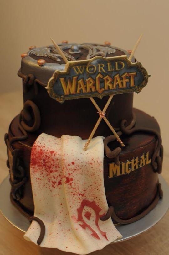 World of Warcraft cake | Let Them Eat - Cake | Cake, Birthday cake ...
