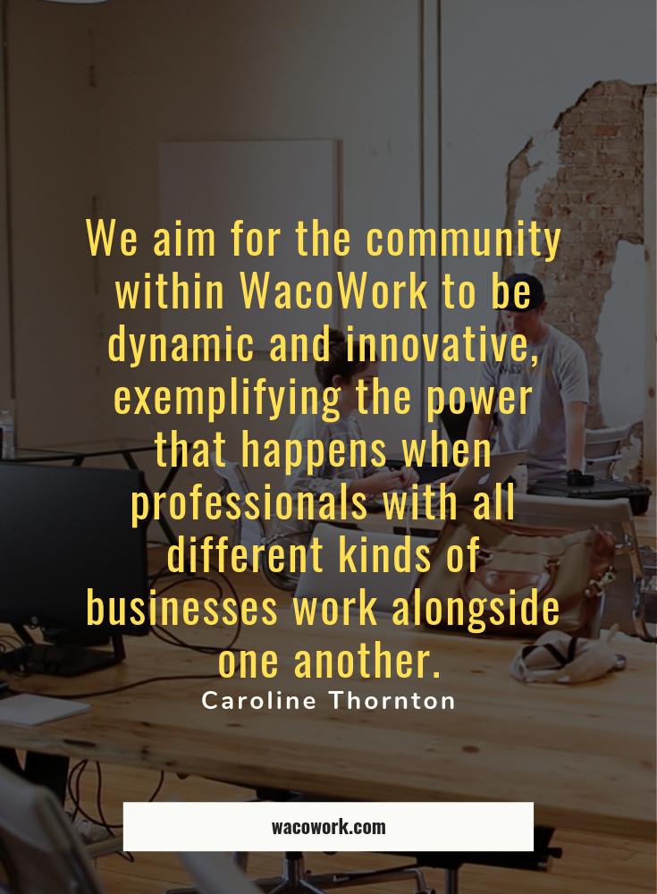 Wacowork S Caroline Thornton Weighs In On The Importance Of