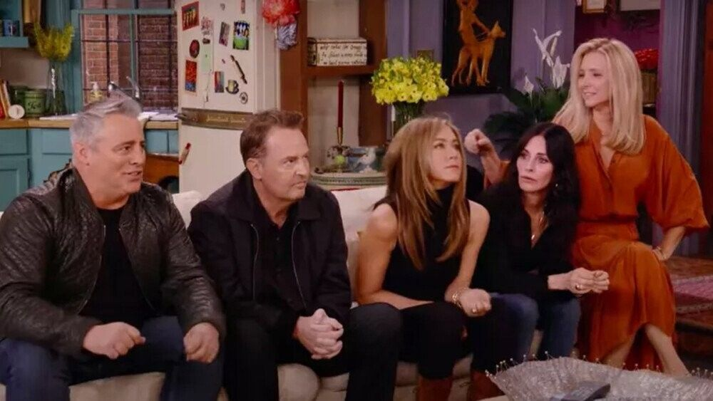 Want To Feel Old Watch The Friends Reunion Trailer In 2021 Friends Reunion First Episode Of Friends Friends Moments