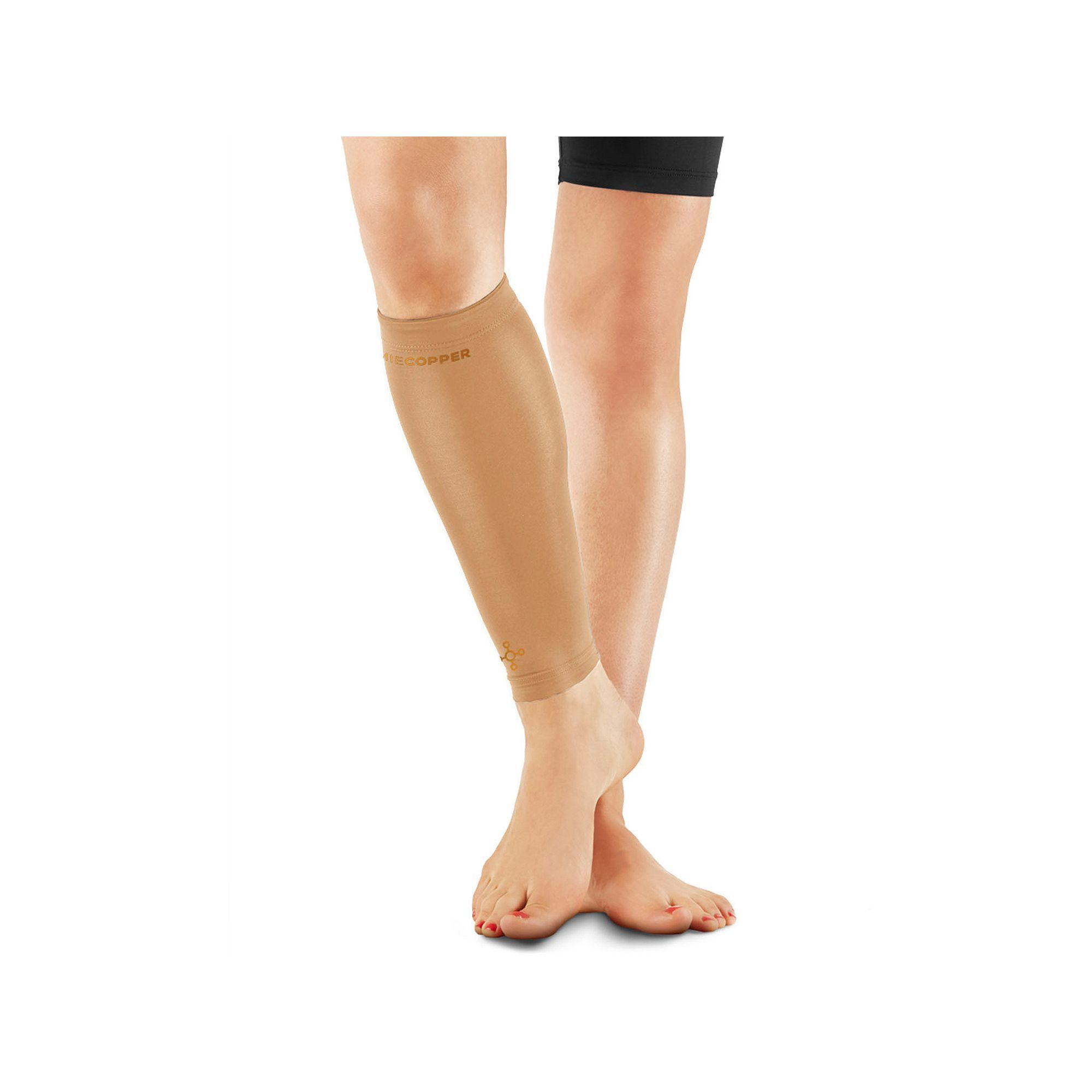 1f6d0108b8 Women's Tommie Copper Recovery Compression Calf Sleeve, Lt Brown ...